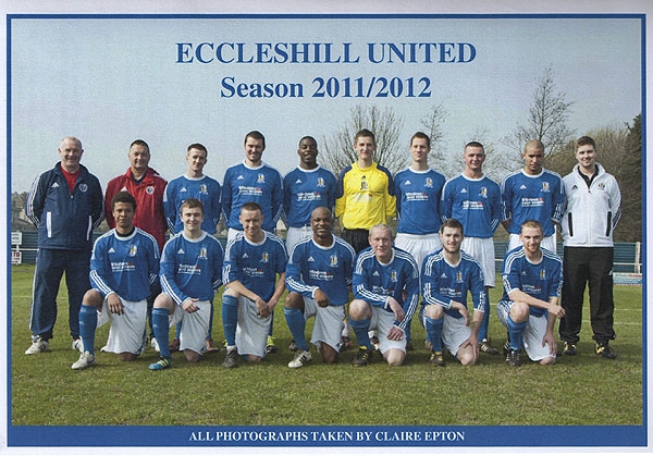 Published in the Match day programmes at Eccleshill United Football Club: