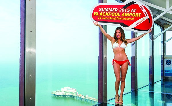 PR shoot for Jet2.com & Jet2holidays – Summer 2015 launch from Blackpool