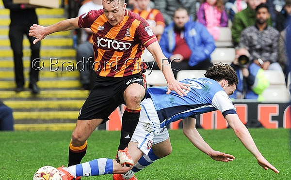 Bradford City v Walsall: Match photos…
