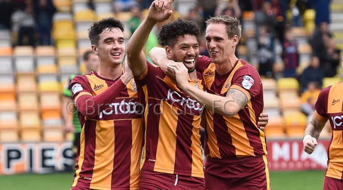 Bradford City v Doncaster: match photos…