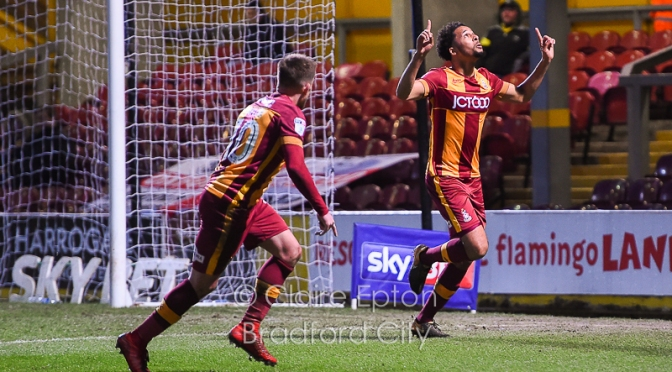 Bradford City v Oxford: Match photos…